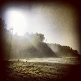 Agate Beach, Sunset