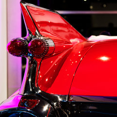 Fins Exhibit :: The Petersen Automobile Museum