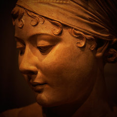 """Bust of Madame Recamier"" – Joseph Chinard :: J Paul Getty Museum"